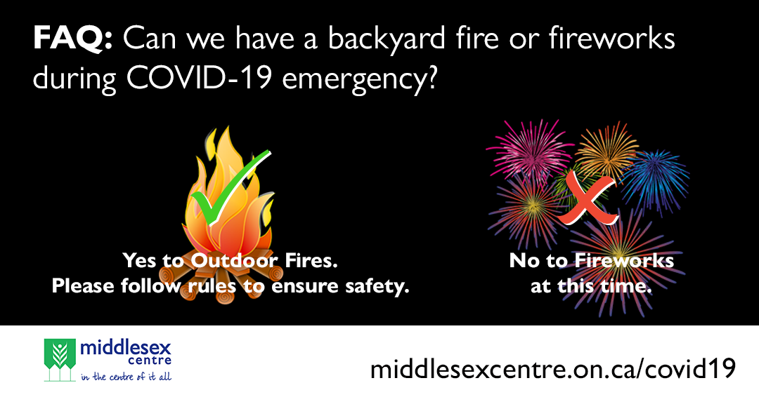 COVID-19: Fireworks and Outdoor Fires FAQ